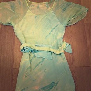 Gypsy 05 Silk Adjustable Belt Dress